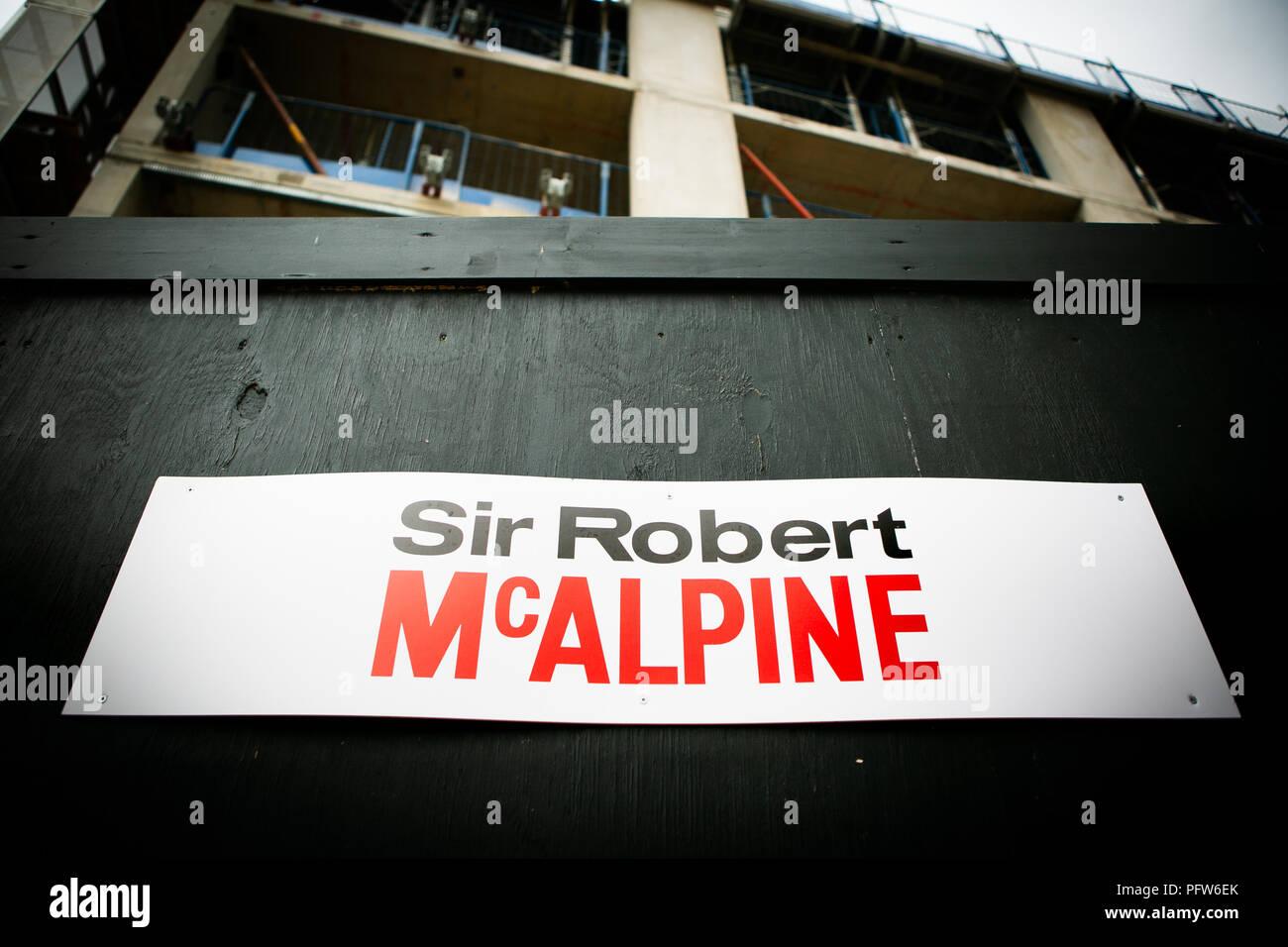 Sir Robert Mcalpine Construction Stock Photos Amp Sir Robert