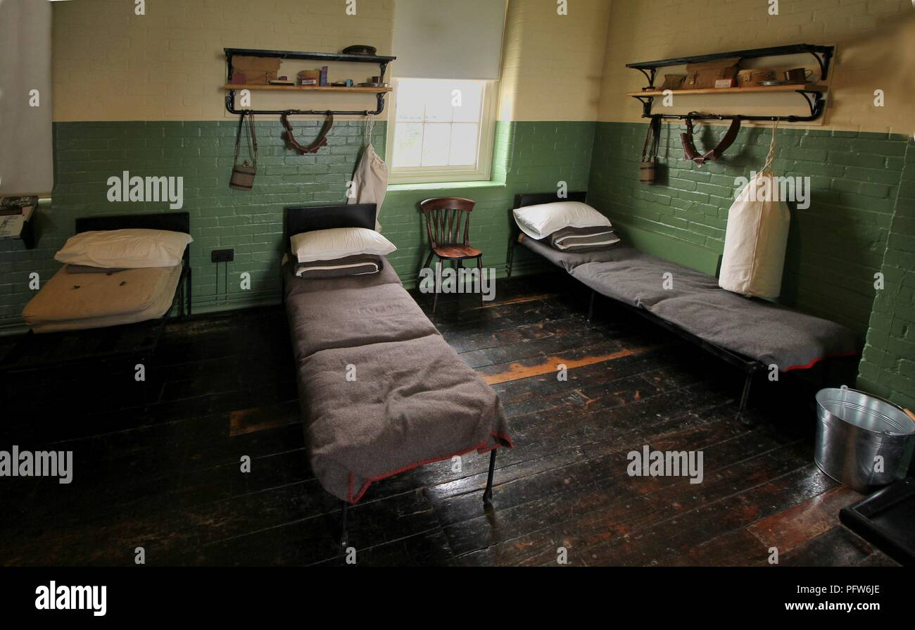 Barracks Beds Stock Photos & Barracks Beds Stock Images - Alamy