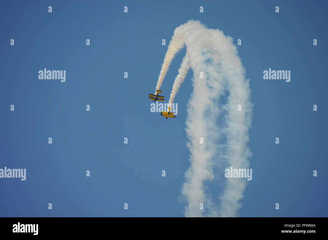 Four flights formation - Stock Image