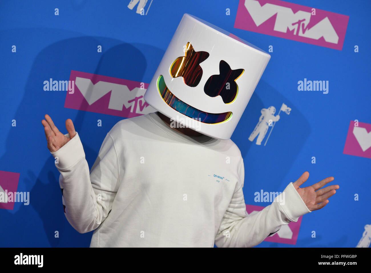 Marshmello attends the 2018 MTV Video Music Awards at Radio City
