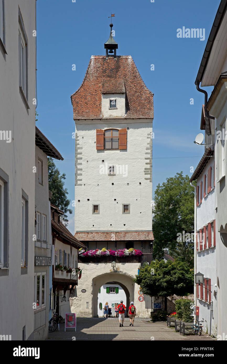 Espan Gate, Isny, Allgaeu, Baden-Wuerttemberg, Germany - Stock Image