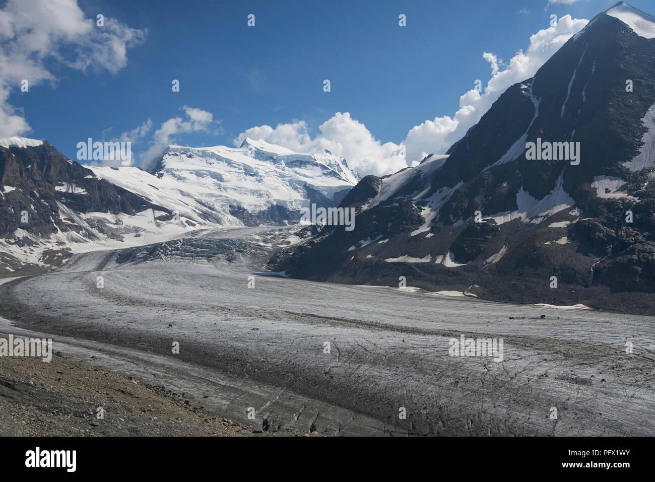 Corbassièere Glacier, Wallis, Switzerland - Stock Image