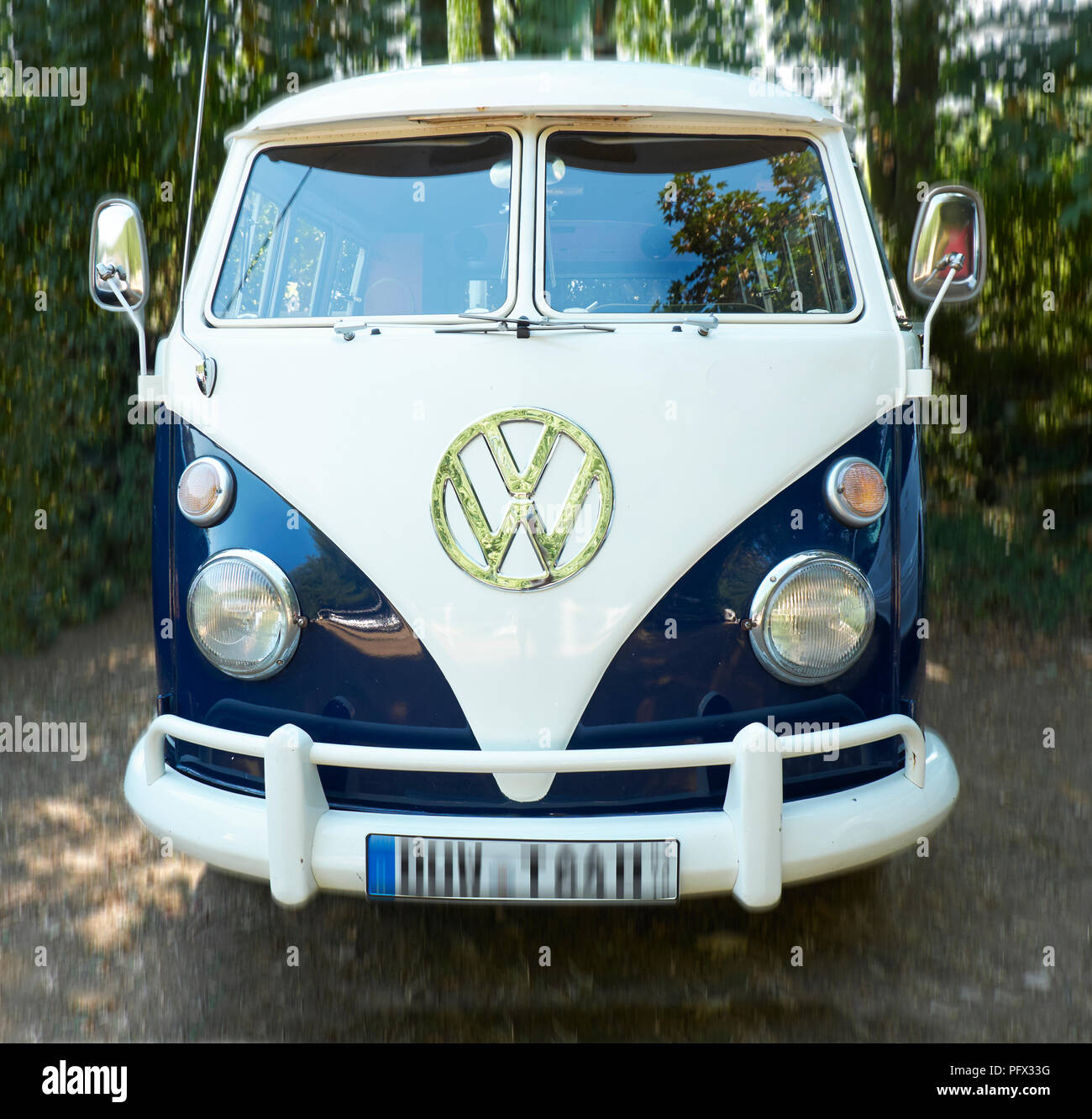 VW Bus T1 Bulli - Stock Image