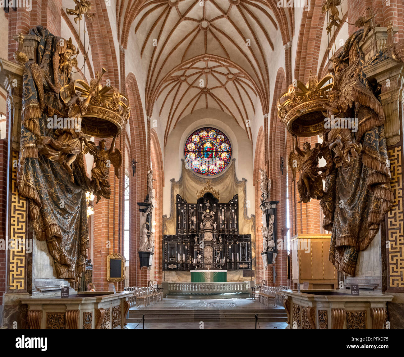 Storkyrkan (Stockholm Cathedral), Gamla Stan (Old Town), Stadsholmen island, Stockholm, Sweden - Stock Image