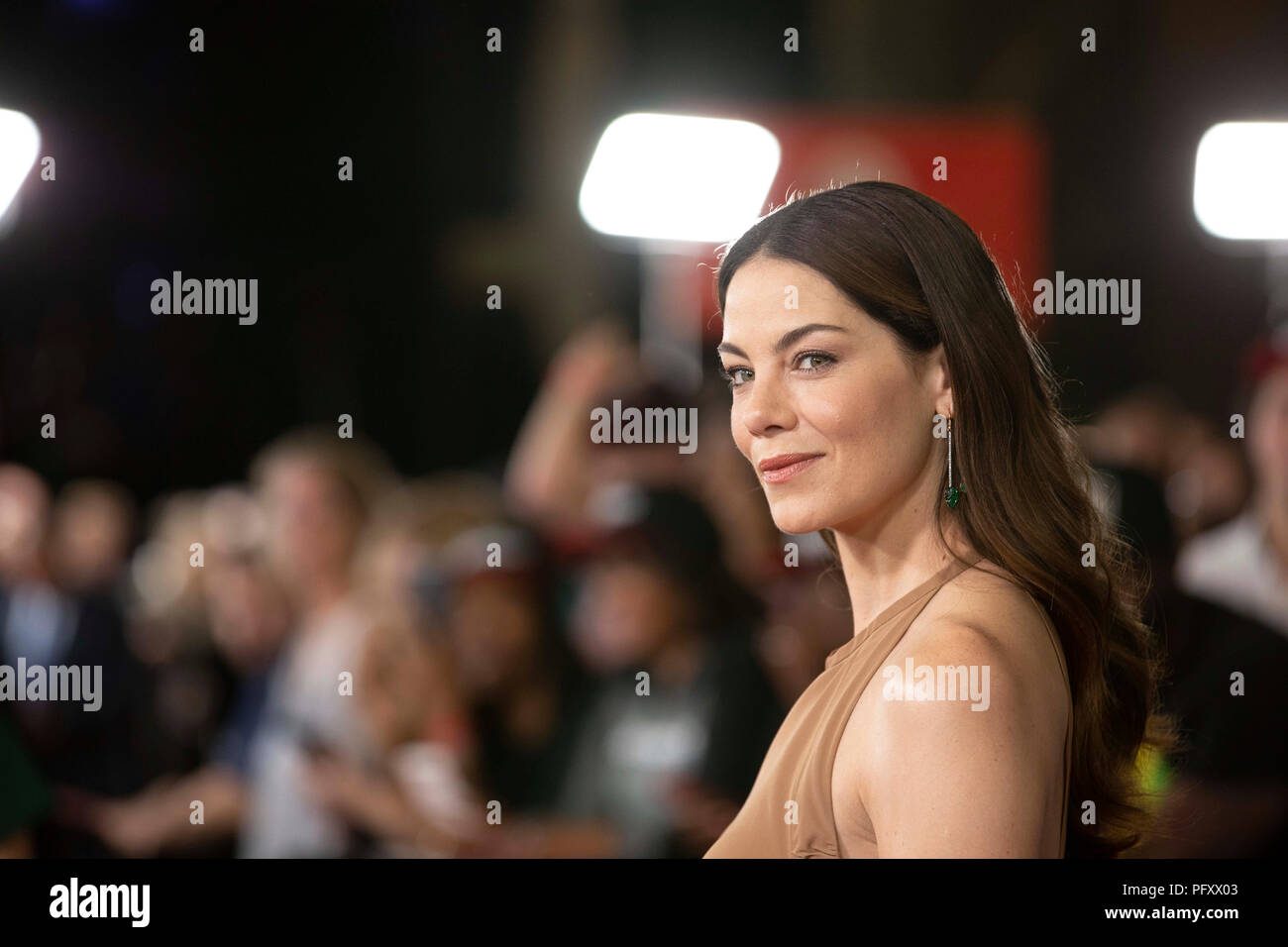 Actress Michelle Monaghan walks the red caret prior to a