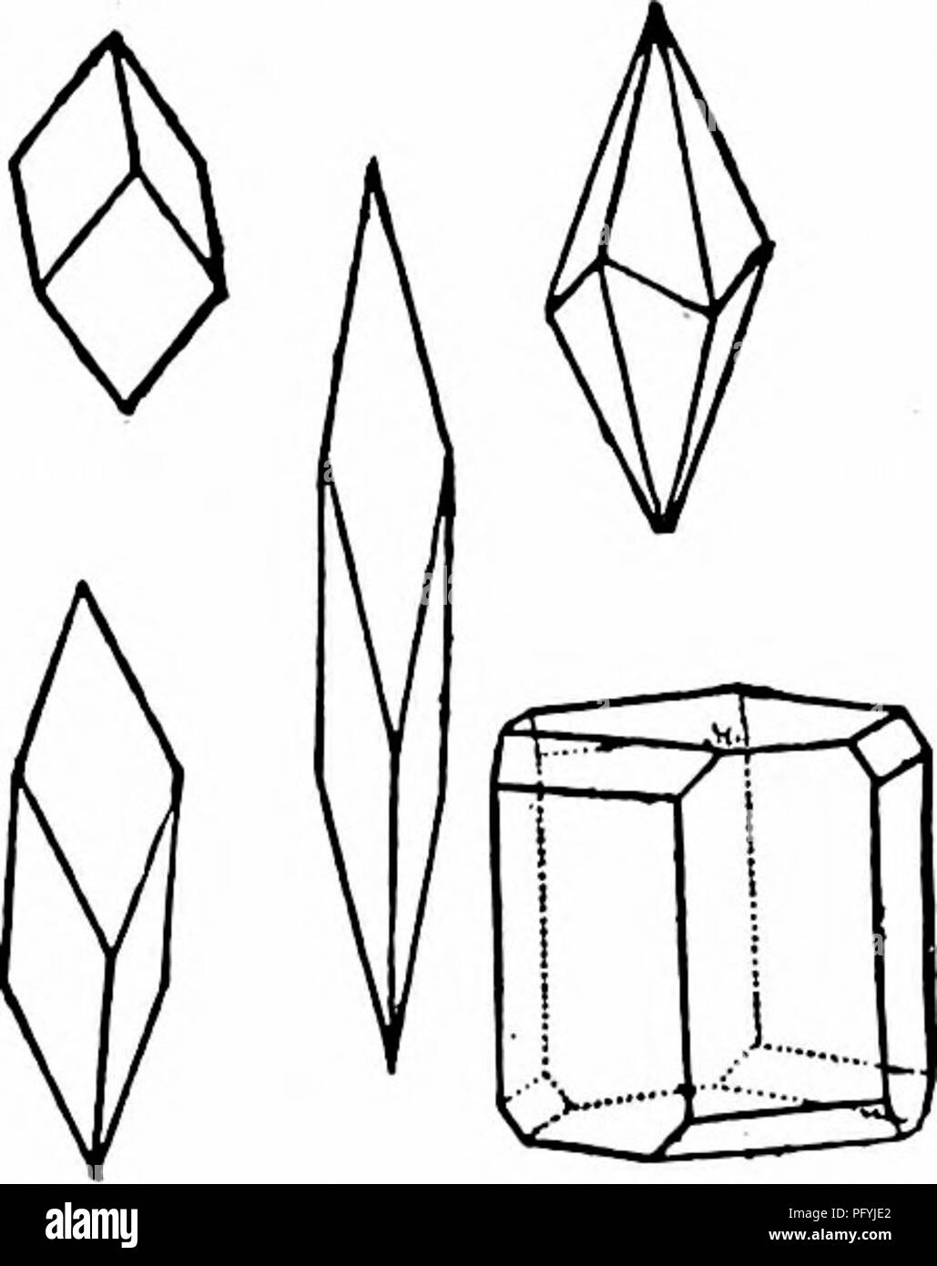 . Handbook of nature-study for teachers and parents, based on the Cornell nature-study leaflets. Nature study. Earth Study 835 5. Examine some sand with a lens. What mineral do you find present in it in the greatest quantity? 6. Write the story of the Cleopatra's Needle in Central Park, New York City. CALCITE, MARBLE AND LIMESTONE Teacher's Story Calc spar, or calcium carbonate, is a mineral and is the material of which marble, limestone and chalk are made. The faces of the calcite crystal are always arranged in groups of three or multiples of three—a three-sided pyramid or two pyramids joined - Stock Image