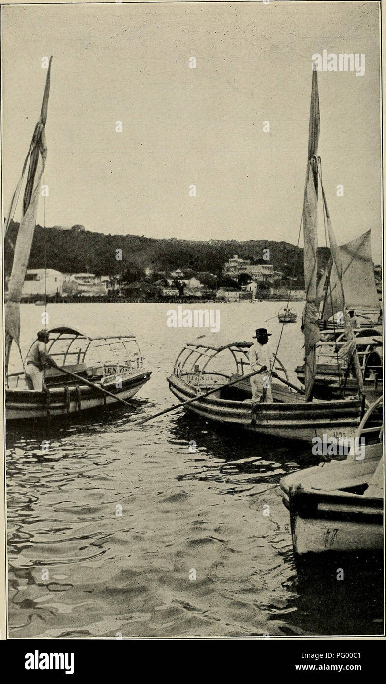 35b5e93f0db HAVANA HARBOR AND HAVANA BOATMAN. CASA BLANCA IN THE BACKGROUND.. Please  note that these images are extracted from scanned page images that may have  been ...