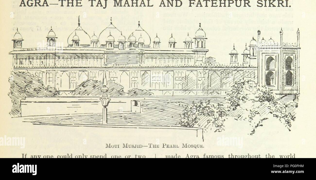 """Image  from page 37 of 'Letters from India and Ceylon, including the Manchester of India, the Indian Dundee, and Calcutta jute mills ... 1895-96. Reprinted from the """"Dundee Advertiser.""""' . - Stock Image"""