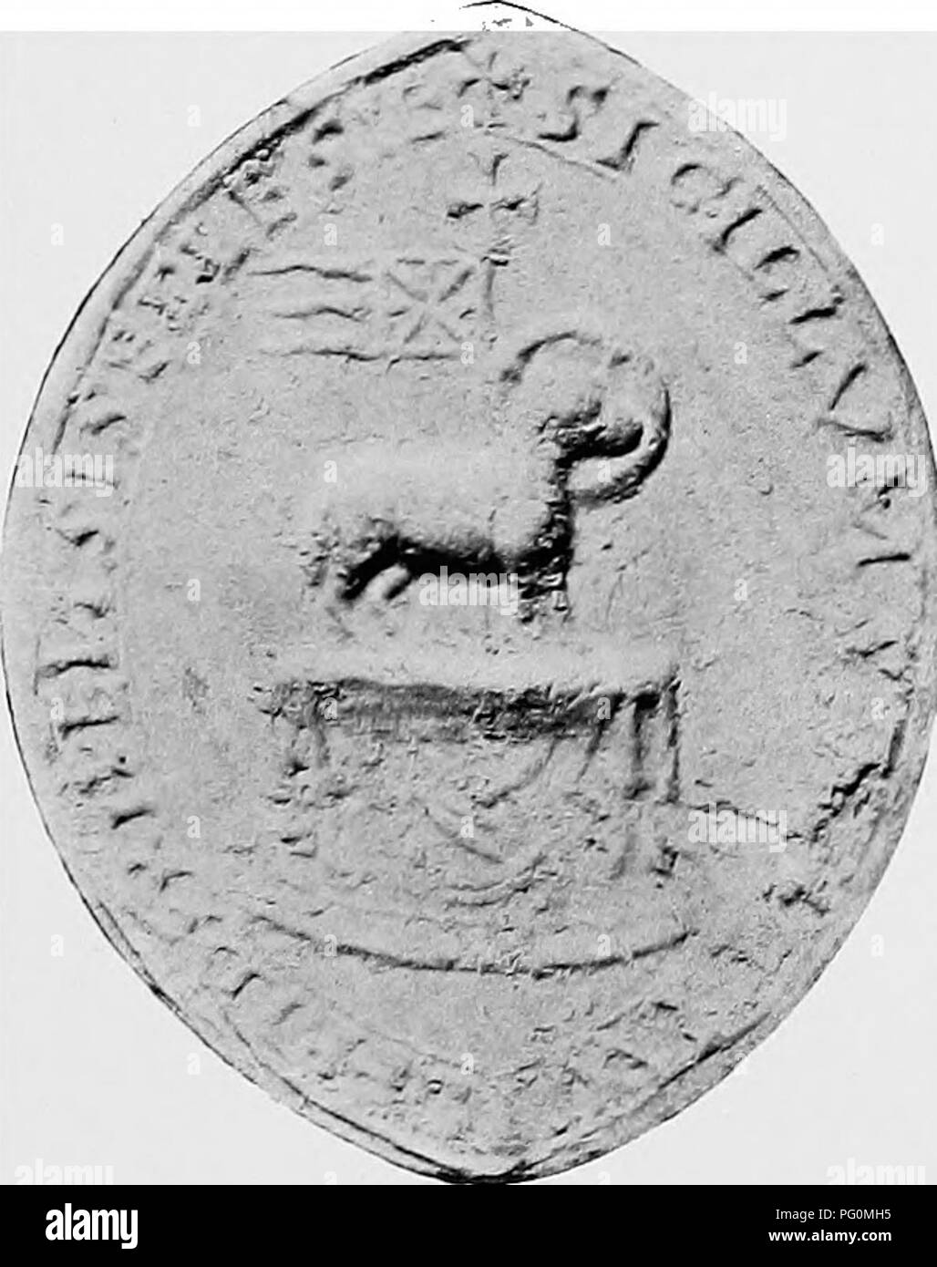 . The Victoria history of the county of York;. Natural history. Trinity Hospital, Fossgate, York (14TH Century). RiPON Collegiate Church (i2Th Century) St. William's College, York ([4TH Century) Yorkshire Monastic Seals—Plate III. Please note that these images are extracted from scanned page images that may have been digitally enhanced for readability - coloration and appearance of these illustrations may not perfectly resemble the original work.. Page, William, 1861-1934, ed. London, A. Constable and company, limited - Stock Image