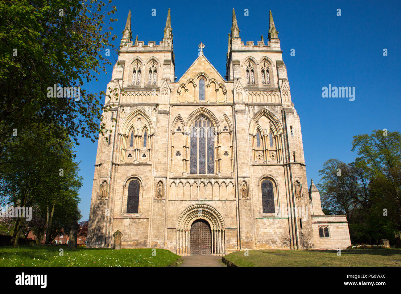 Selby Abbey - Stock Image