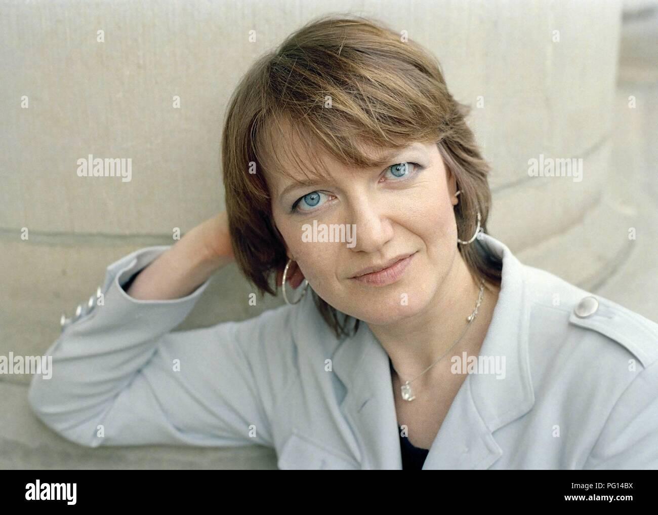 Eleonora Hummel, writer. - Stock Image