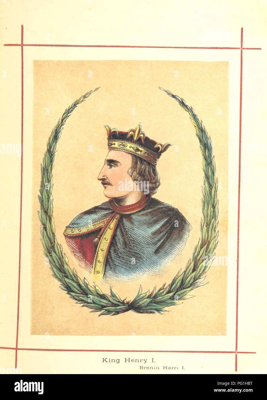 Image  from page 89 of 'Hanes Prydain Fawr o'r cyfnod boreuaf hyd yr amser presenol, etc. [With plates.]' . - Stock Image