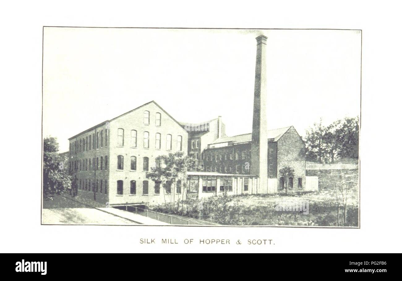Image  from page 167 of 'Paterson, New Jersey. Its advantages for manufacturing and residence its industries, prominent men, banks, schools, churches, etc' . - Stock Image
