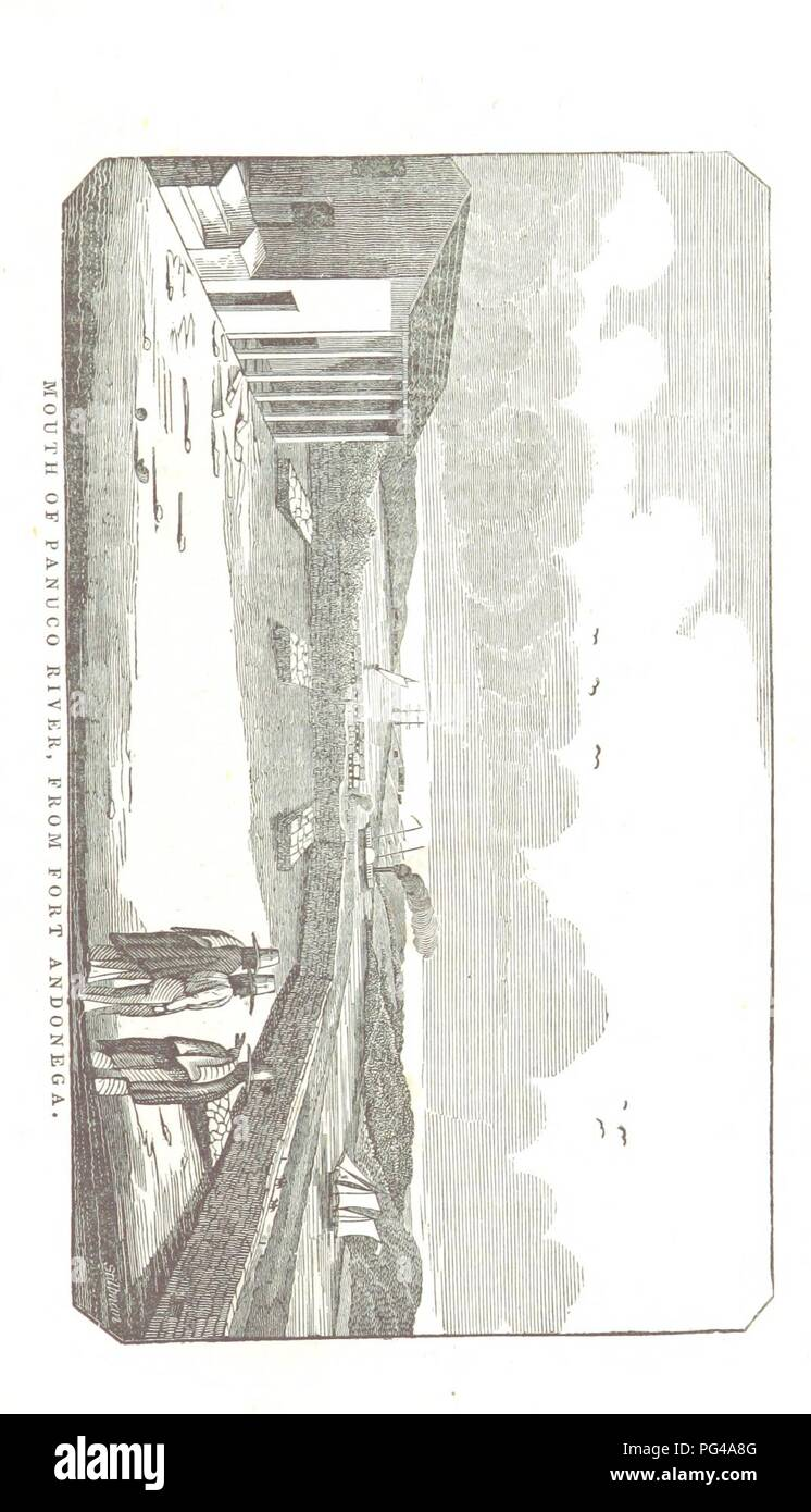 Image  from page 411 of 'The Twelve Months' Volunteer; or, Journal of a Private in the Tennessee Regiment of Cavalry, in the campaign in Mexico, 1846-7 ... Including a complete history of the war with Mexico. Embellished with0007. - Stock Image