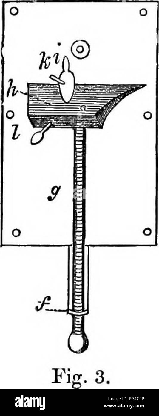 . A practical treatise on the use of the microscope, including the different methods of preparing and examining animal, vegetable, and mineral structures. Microscopes; Microscopy. power was increased by draw tubes from 40 to 140 times. The latter, S. Campani of Bologna, was also a maker of telescopes and microscopes, and a successful rival of the former, his instrument was somewhat similar to that made by Divini, being on the principle of an inverted telescope. Campani'a lenses are said to have been worked on a turn-tool, and not moulded. In 1672, we find that S. P. Salvetti made micro- scopes - Stock Image