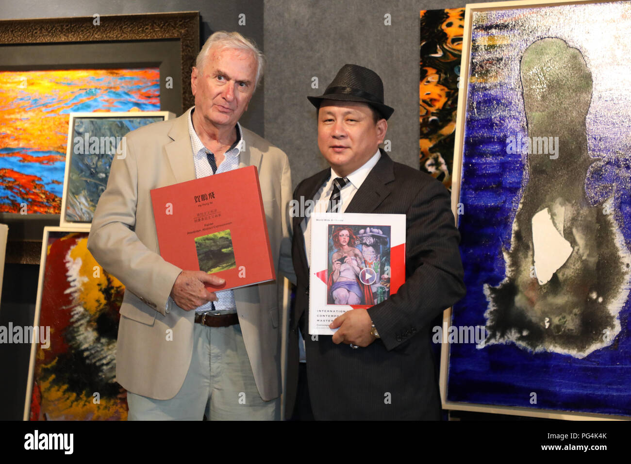 Artist Exhibition: Pengfei He at Ning Zhou Gallery in Laguna Beach