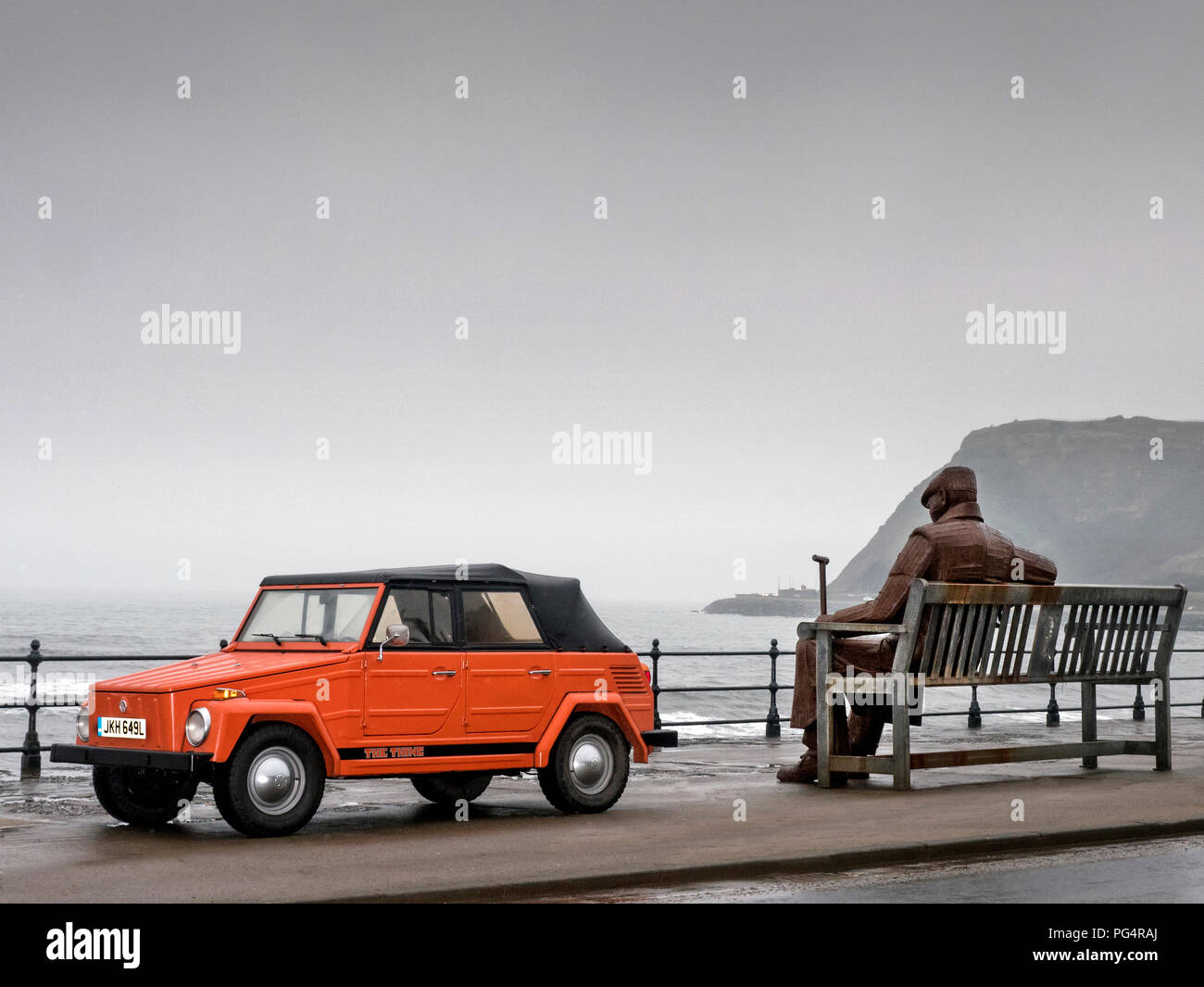 1973 VW 'The Thing' - Stock Image