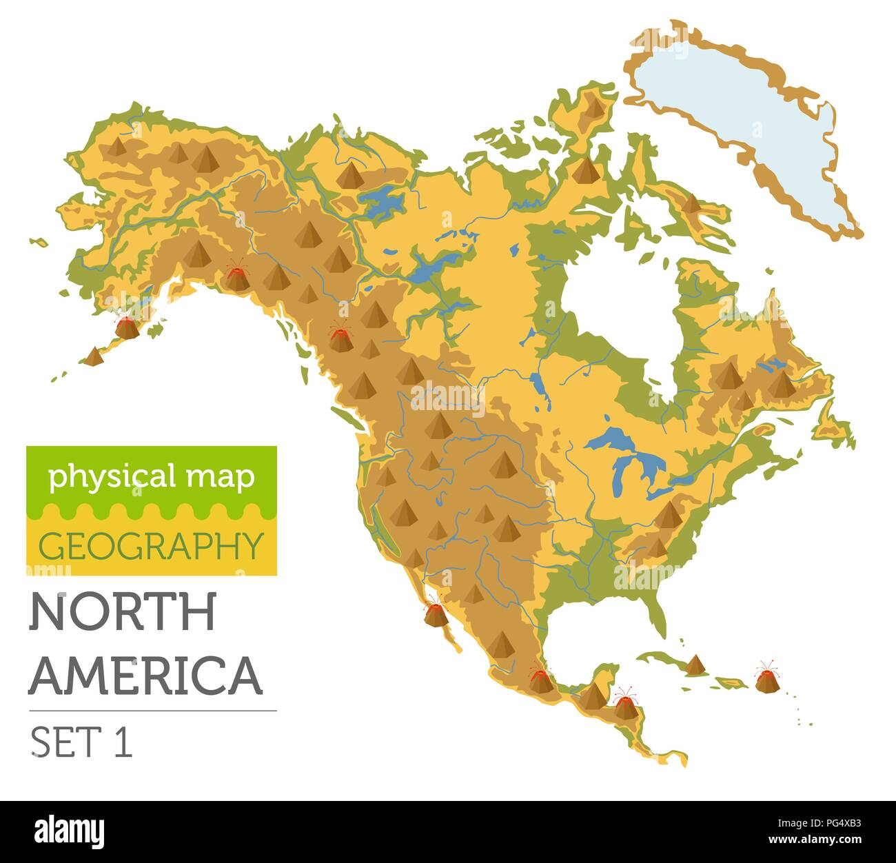 the geography of america