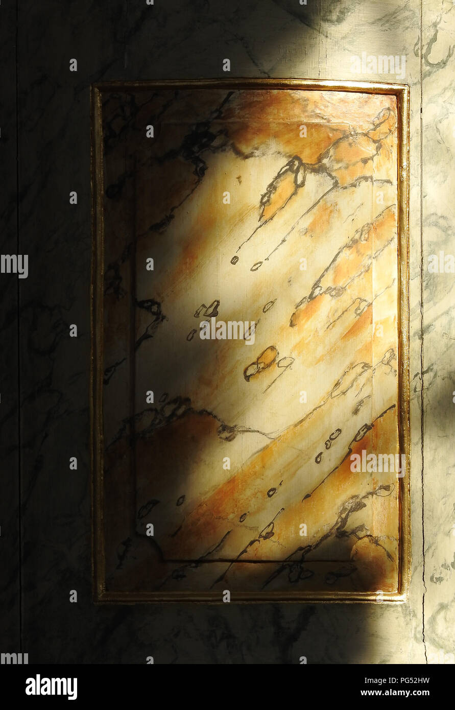 Abstract marble background texture - Stock Image