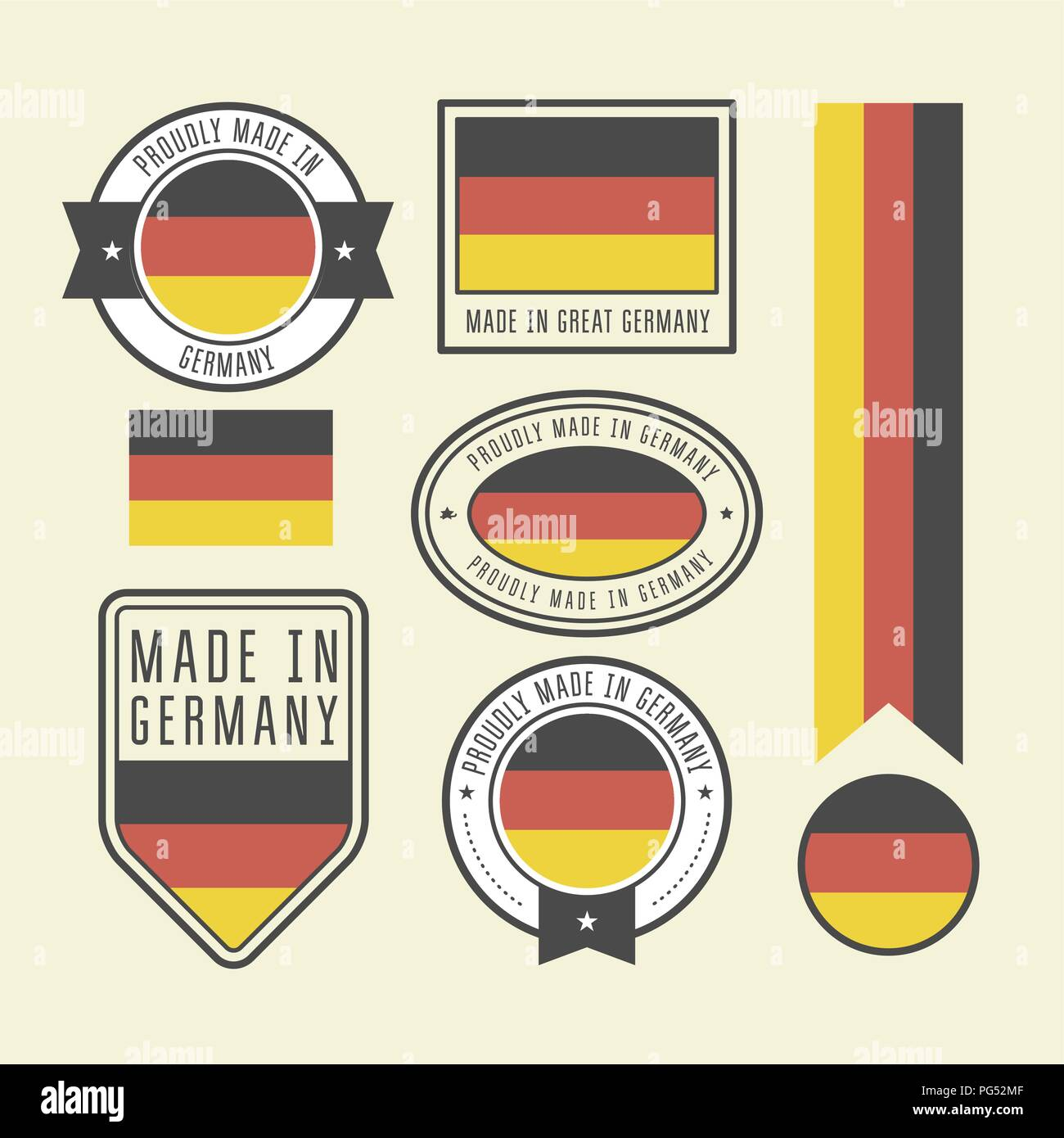 Germany Badges Stock Photos & Germany Badges Stock Images