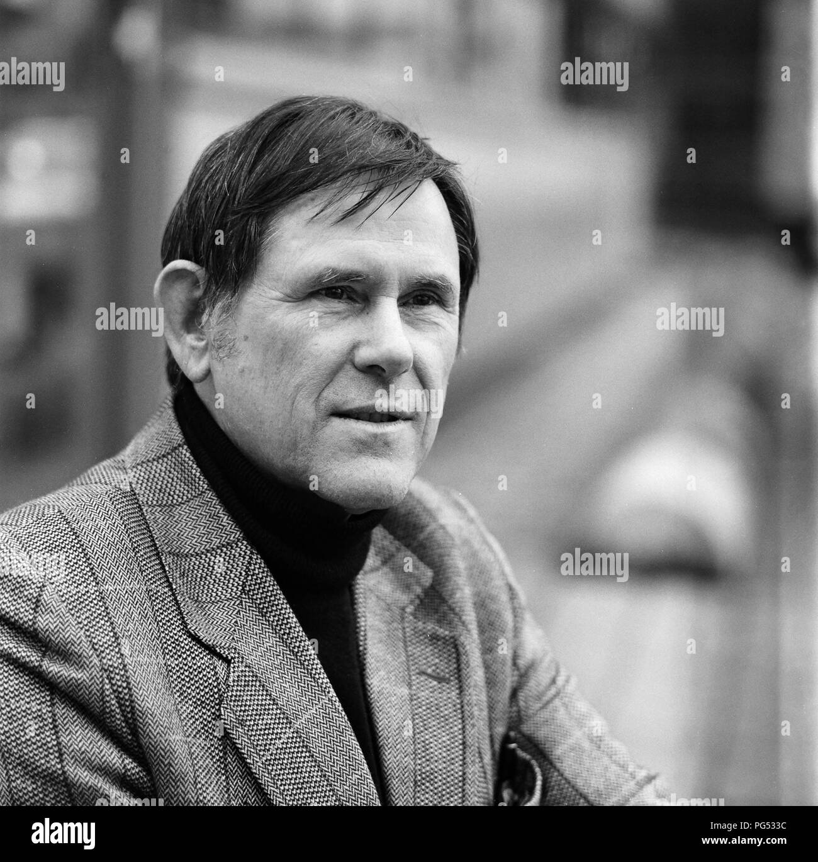 Hartmut Lange, writer. - Stock Image