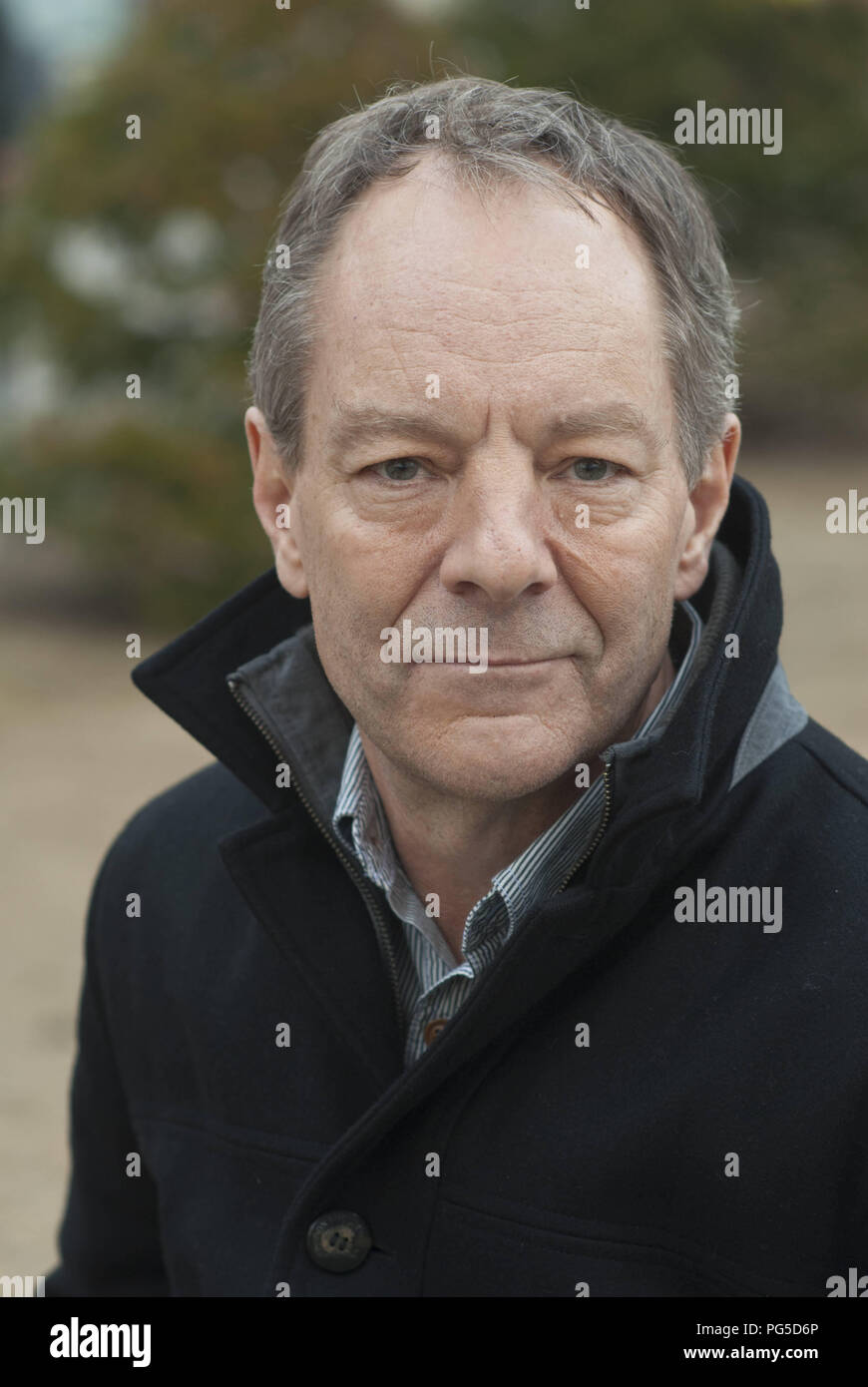 Leipzig, DEU, 13.03.2015: Portrait Tom Drury  (USA) , writer and author. Born in 1956 in Iowa, he counts among the most successful American writers. - Stock Image