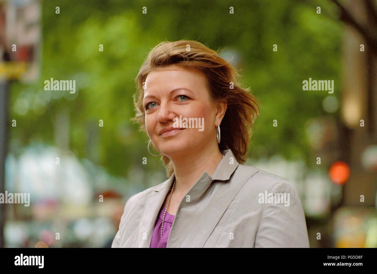 Eleonore Hummel, german author. - Stock Image