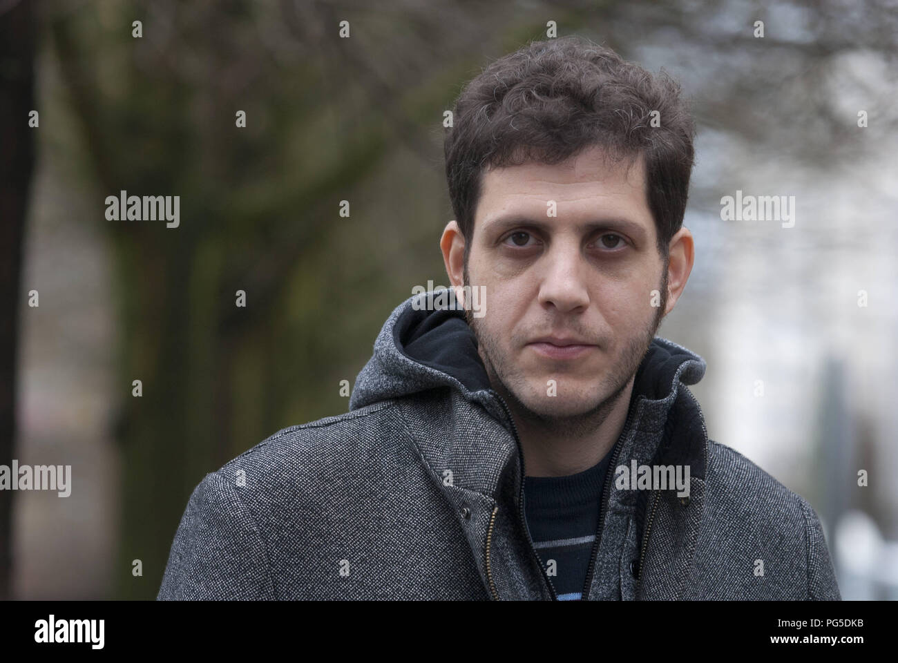 Berlin, DEU, 30.01.2013: Portrait Nir Baram, writer, journalist, author and editor (Israel) - Stock Image
