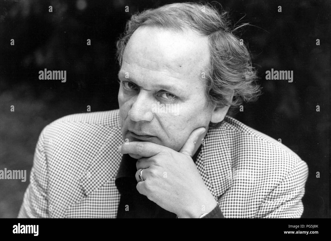 Joachim Sartorius (born 1946), German lawyer and author, general secretary since October 1996, the Goethe-Institut eV in Munich. - Stock Image