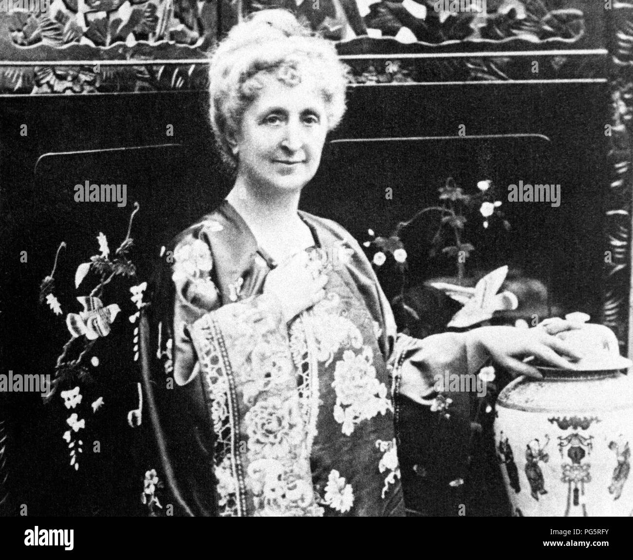 agatha christie, 1918 - Stock Image