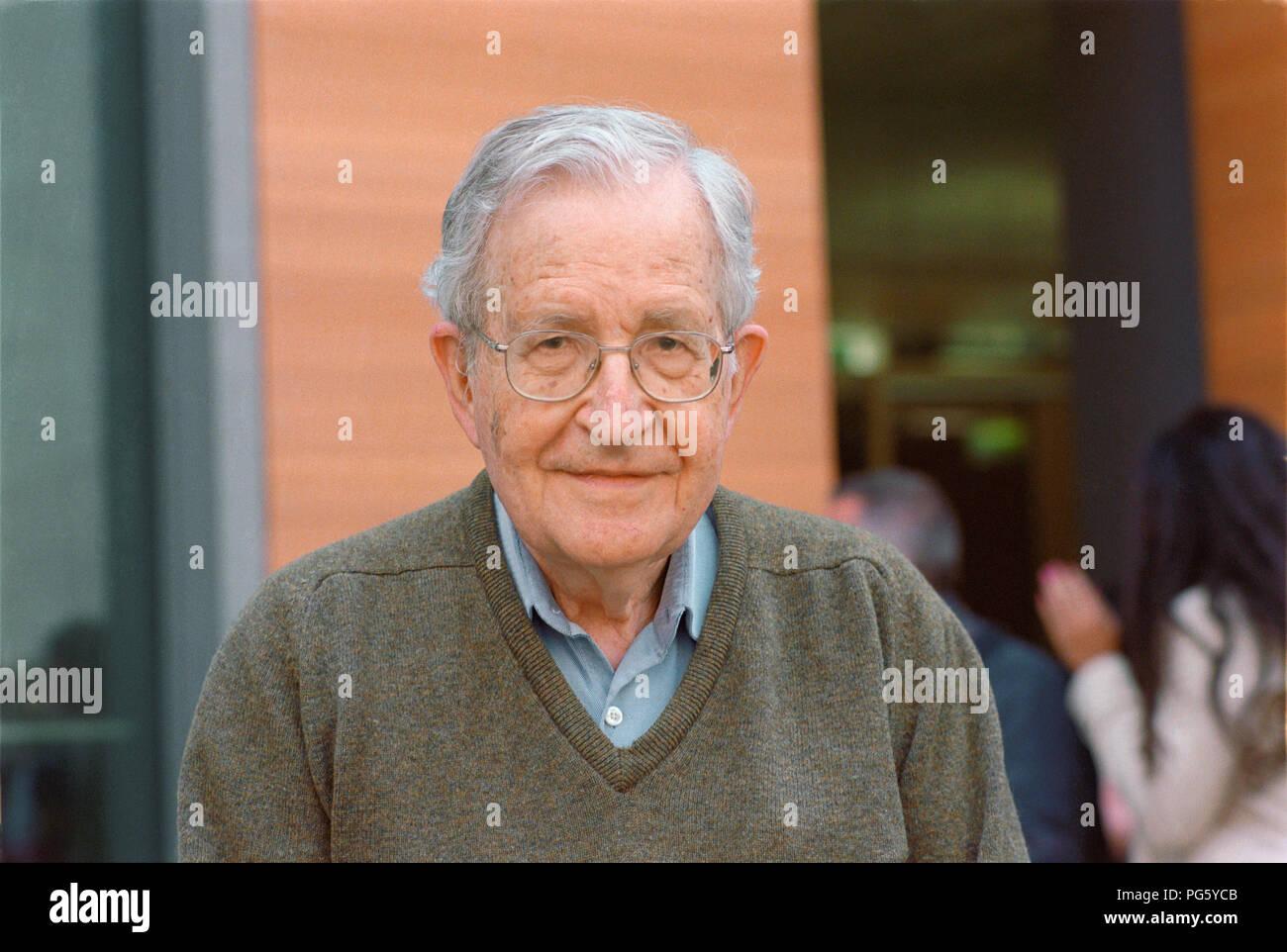 Noam Chomsky (Professor of Linguistics - USA) - 06/08/2011 - Stock Image