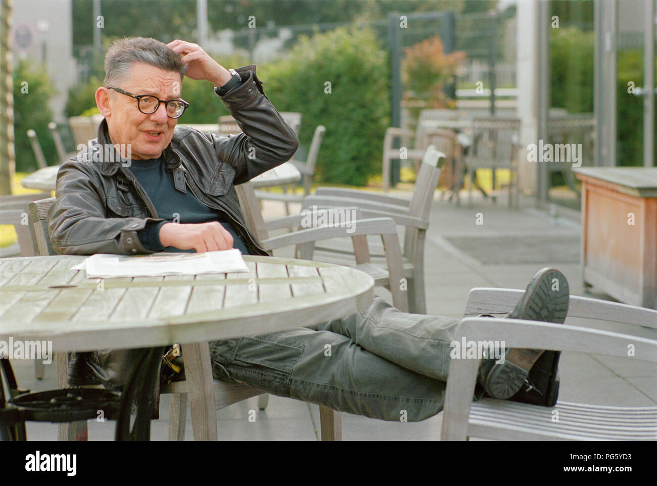 Andrzej Bart (filmmaker and author - Poland) - 03/25/2011 - Stock Image