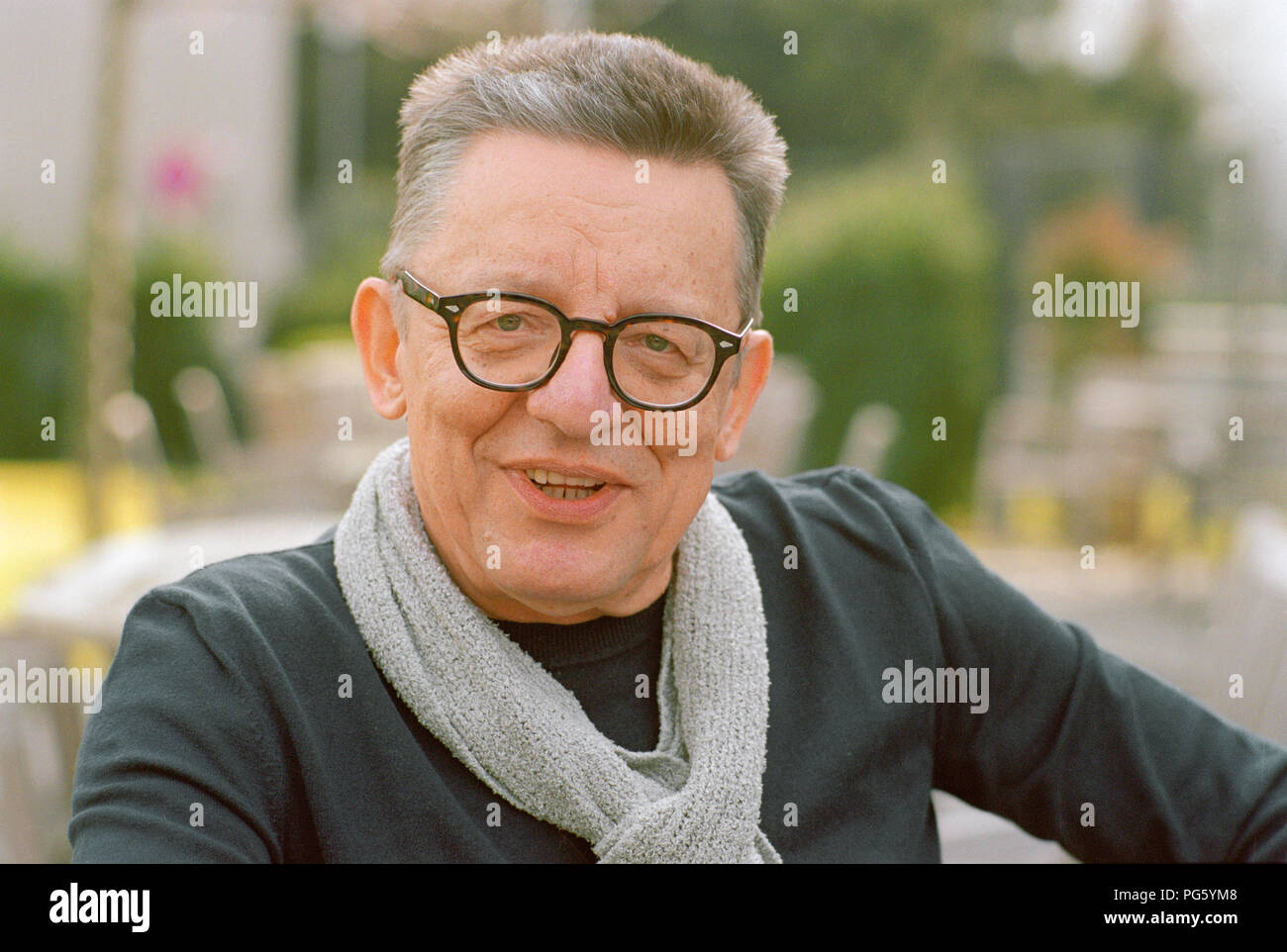 Andrzej Bart, filmmaker and writer from Poland. - Stock Image