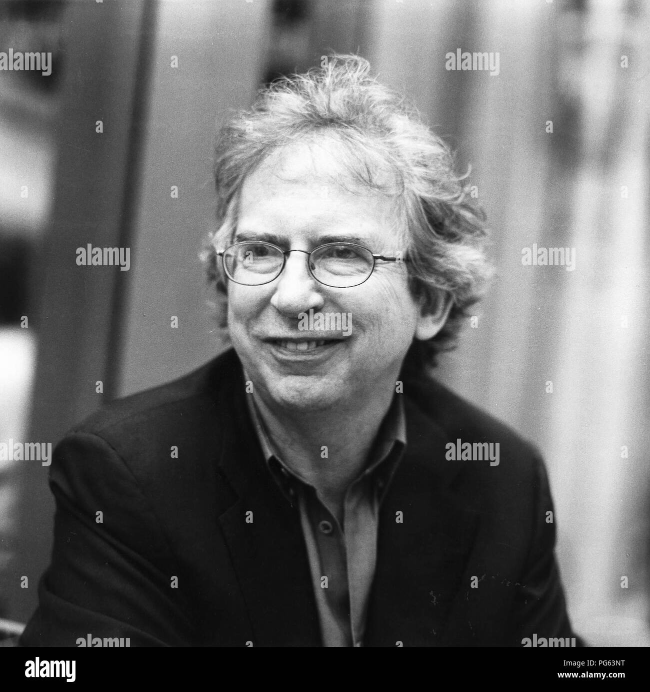 Peter Carey, Australian writer. - Stock Image