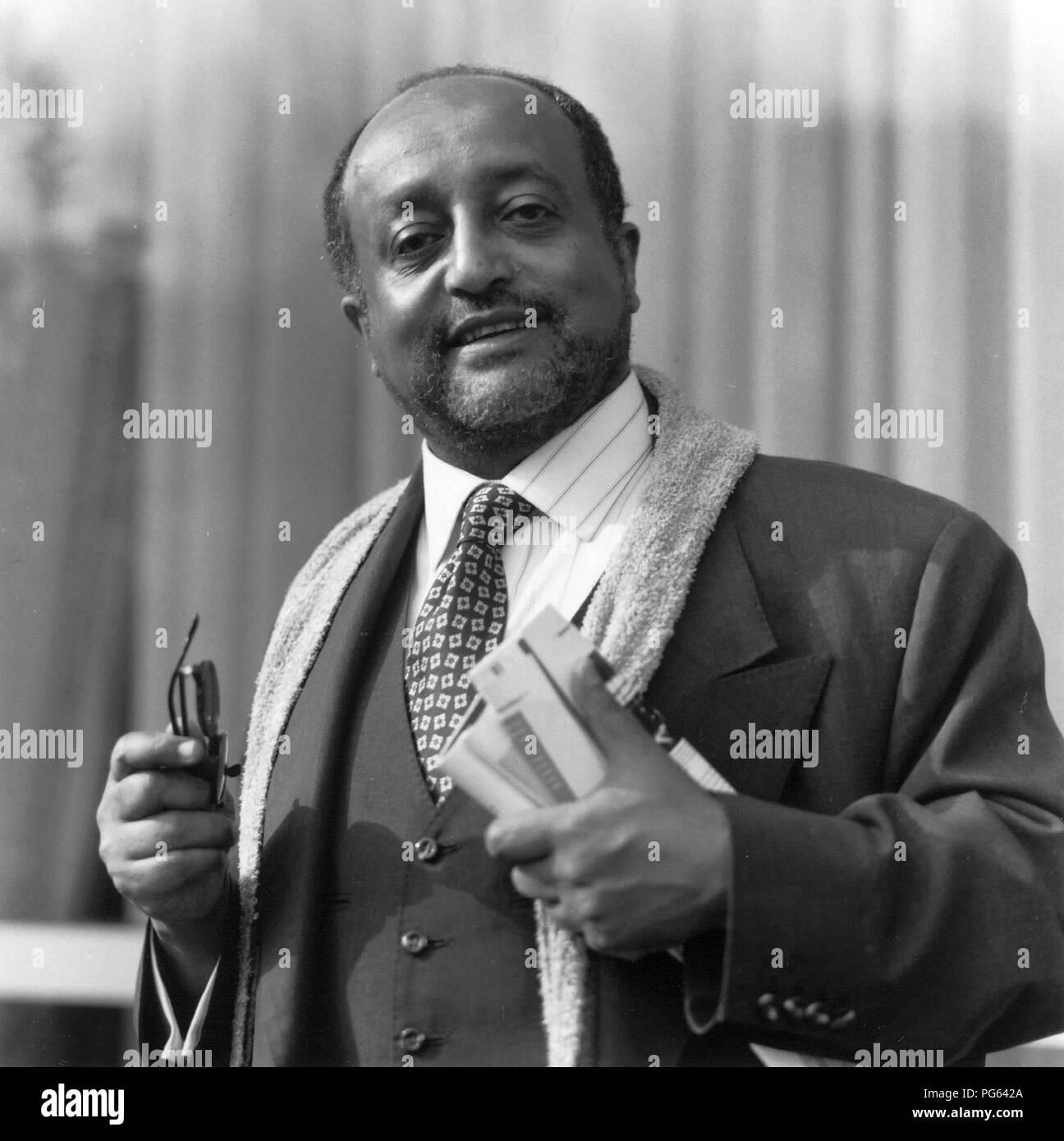 Ethiopian Emperor Black and White Stock Photos & Images - Alamy