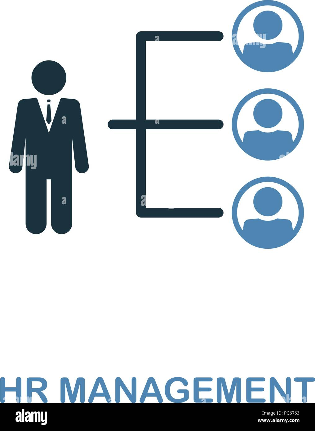 human resource management stock vector images