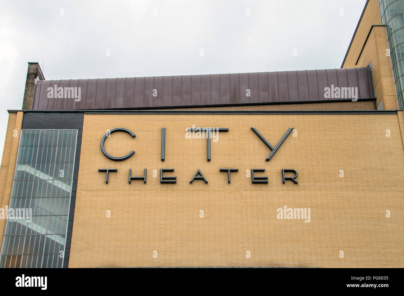 Pathe City Theater At Amsterdam The Netherlands 2018 - Stock Image