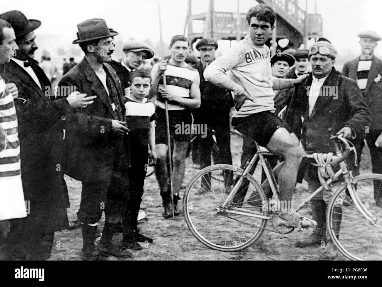 lauro bordin, giro di lombardia, 1914 - Stock Image