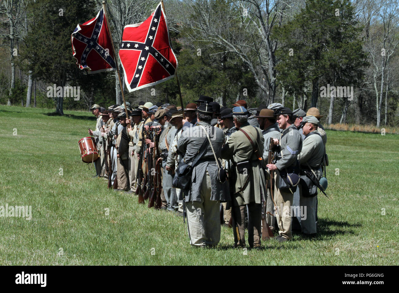The Battle Of Appomattox Court House Stock Photos & The