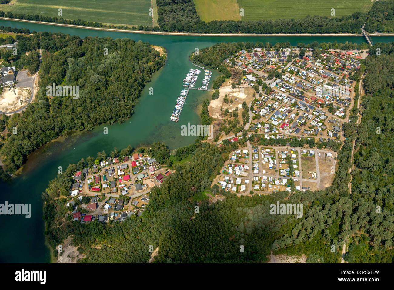 Silbersee Flaesheim Baggerloch Flaesheim Mit Campingplatz Am