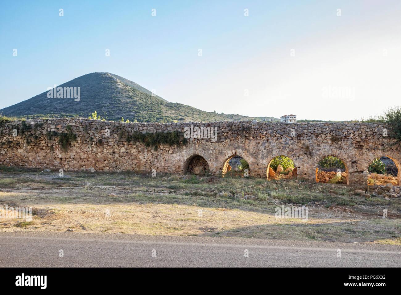 Greece, Peloponnese, Messenia, Pylos - Stock Image