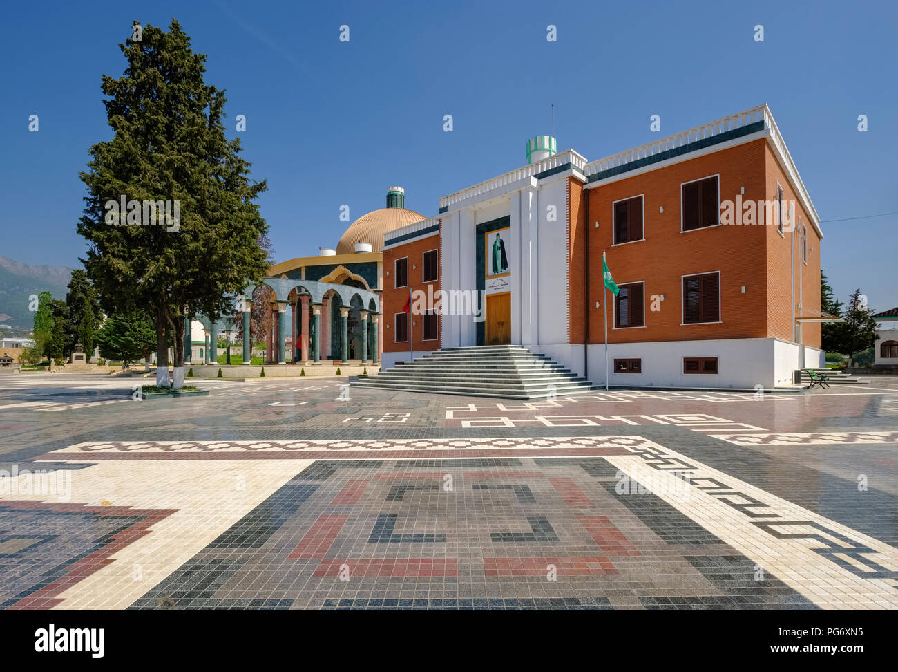 Albania, Tirana, World Bektashi Center - Stock Image