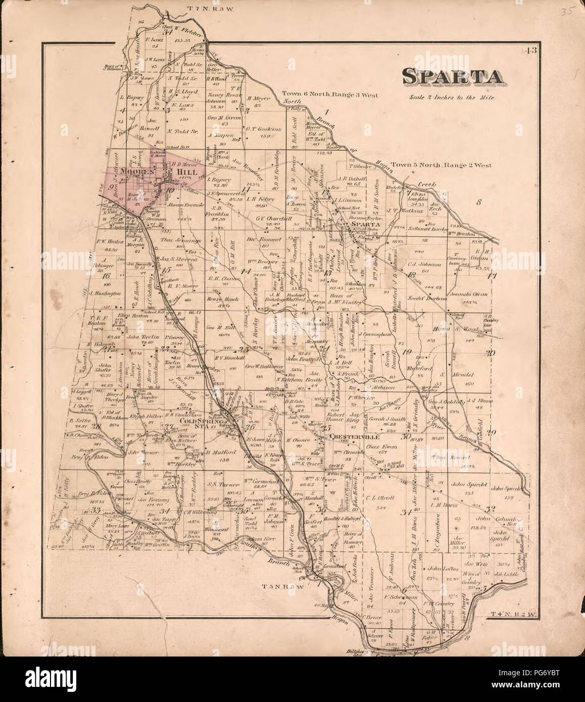 Atlas of Dearborn County, Indiana - to which is added a map of the ...