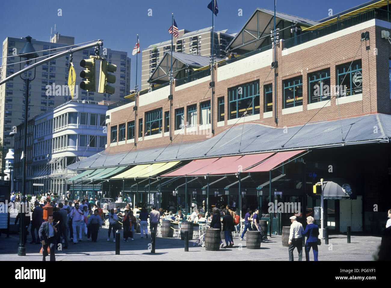 1987 Historical Restaurants Cafes South Street Seaport