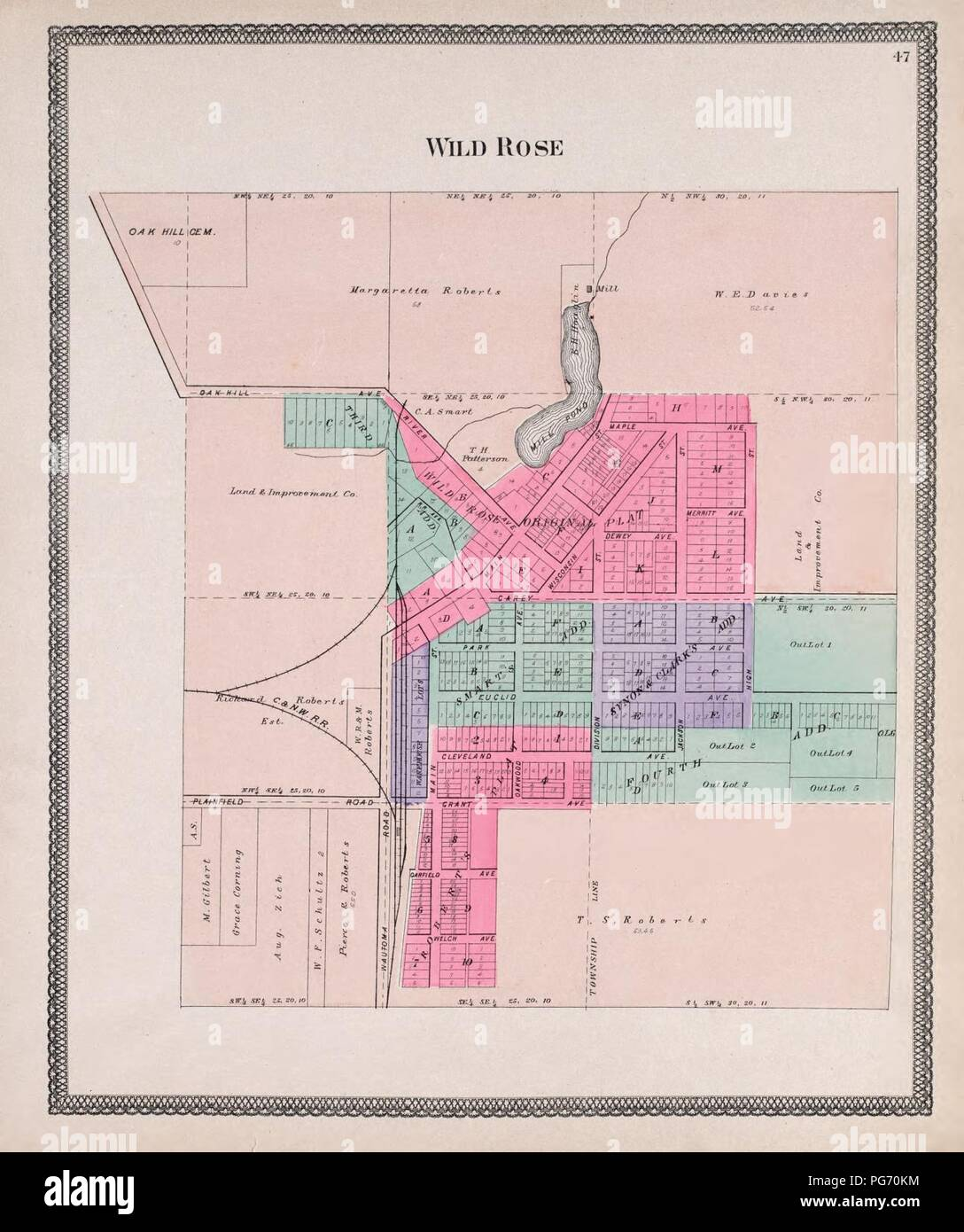 Atlas of Waushara County, Wisconsin - containing maps of ...