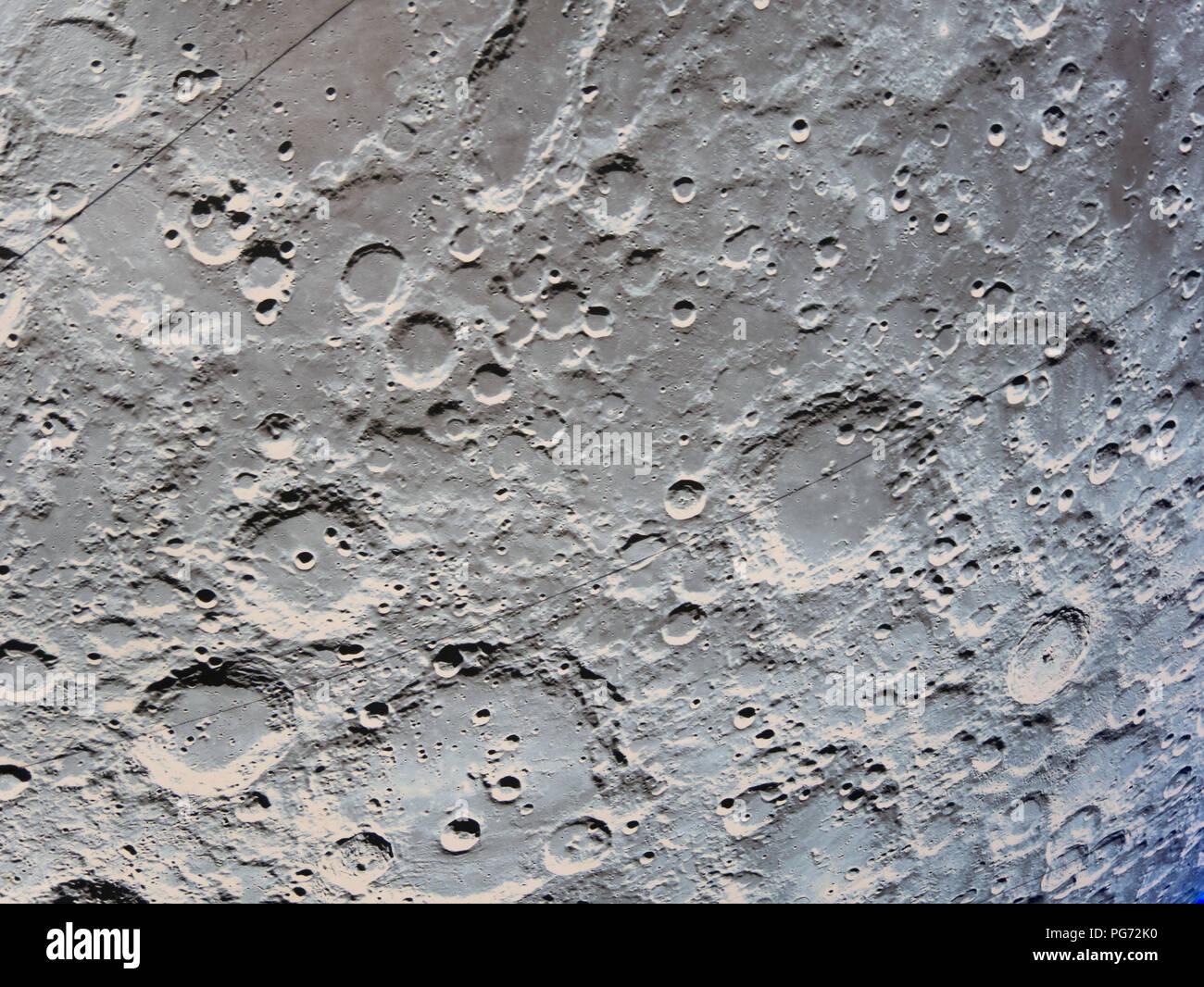Museum of the Moon, artwork by Luke Jerram - Stock Image