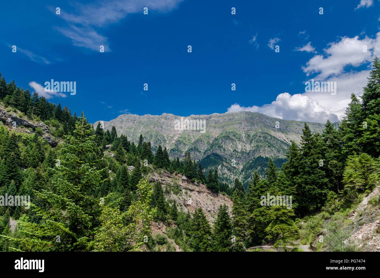 Tzoumerka mountains - Stock Image