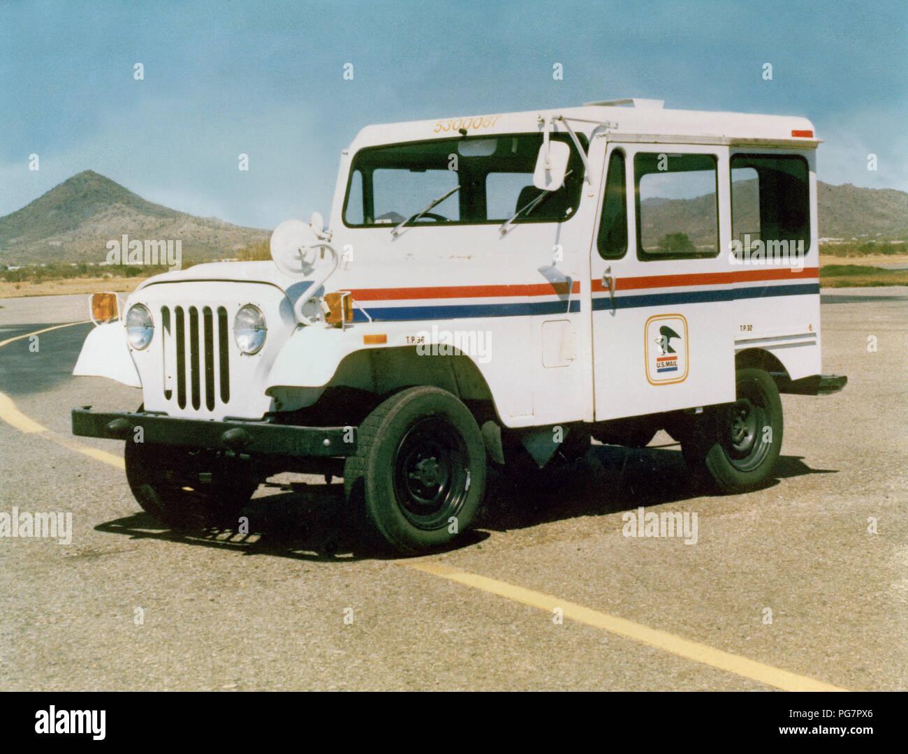 1977 Electric Car - Stock Image