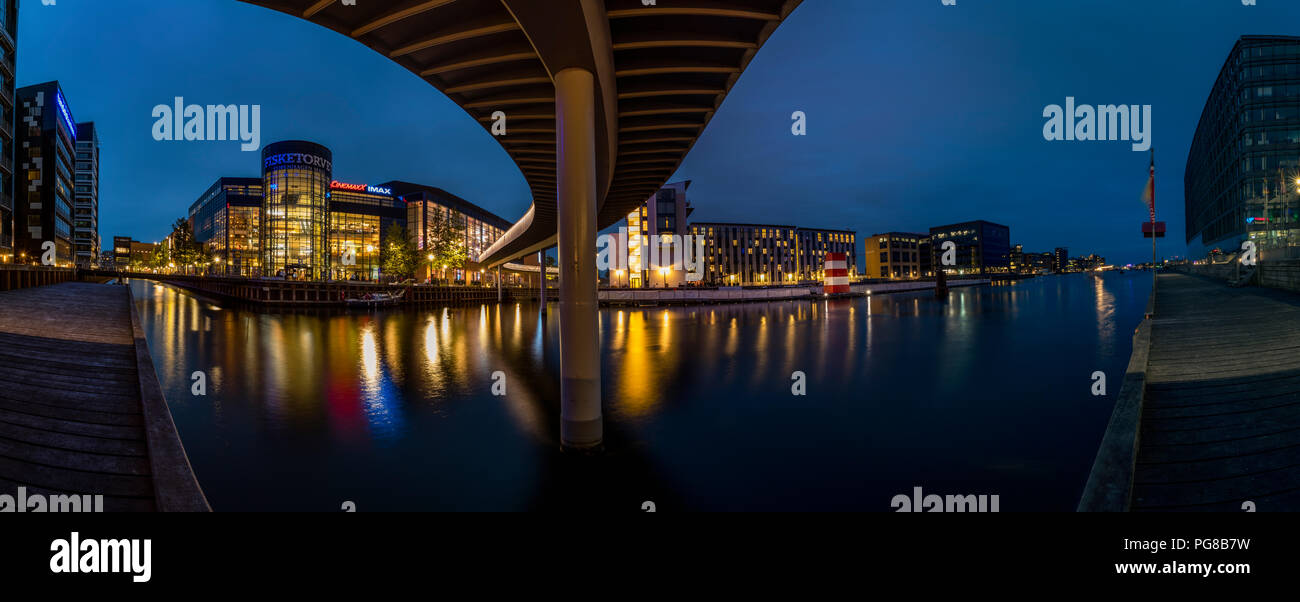 Fisketorvet - Copenhagen Mall at sunetCycl - Stock Image