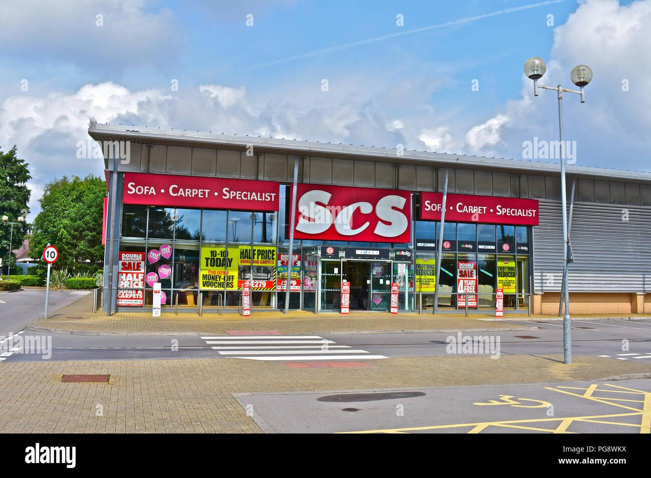The ScS Furniture Store At Bridgend Retail Park,Bridgend S